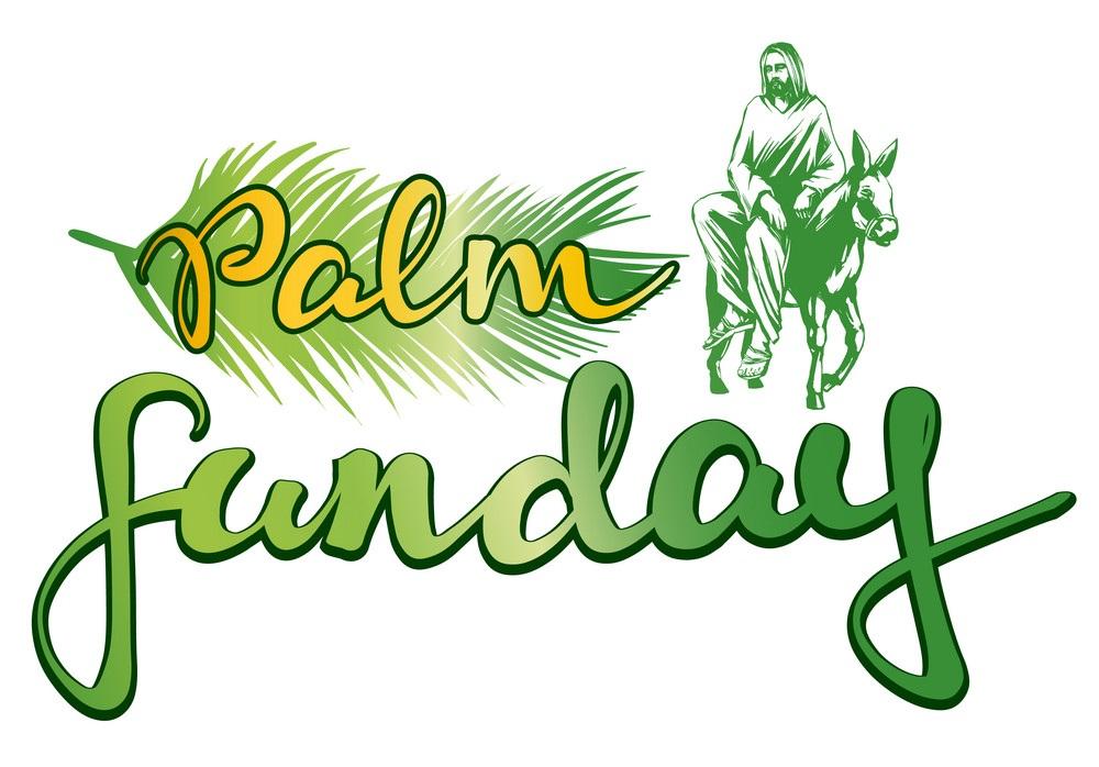 Palm Sunday Clipart 2018.