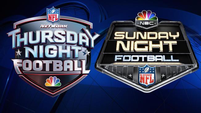 Thursday night football Logos.