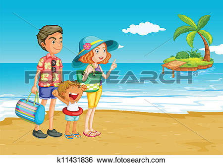 Family outing Clip Art Vector Graphics. 730 family outing EPS.