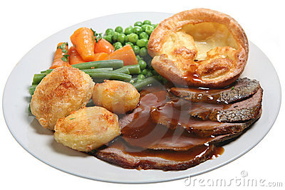 Clip Art Sunday Roast.