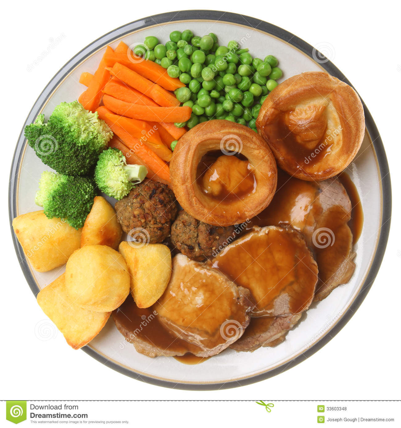 Roast dinner clipart.