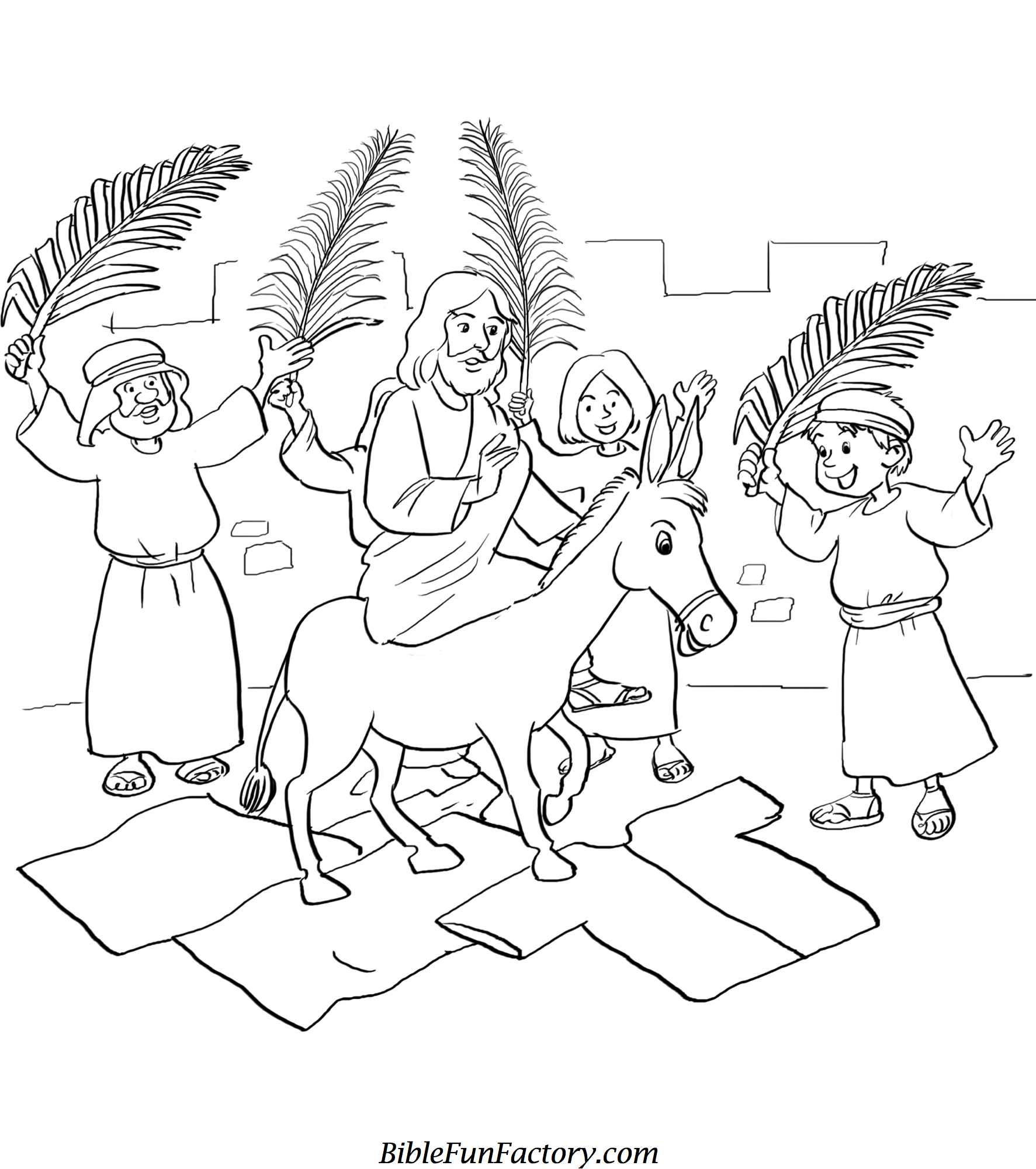 Sunday School Bible Lesson Clipart Black And White.