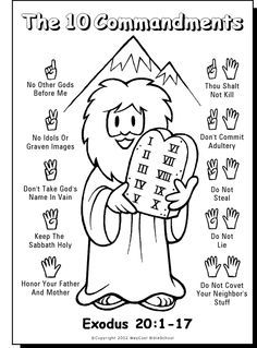 Seven Days of Creation Early Childhood Coloring Sheet for Creation.