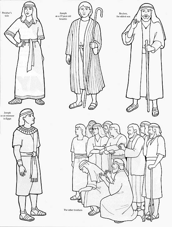 Joseph Worksheets.