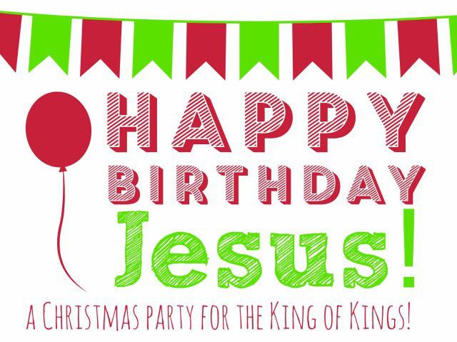 Sunday School Happy Birthday Jesus Party! « Grace Evangelical.