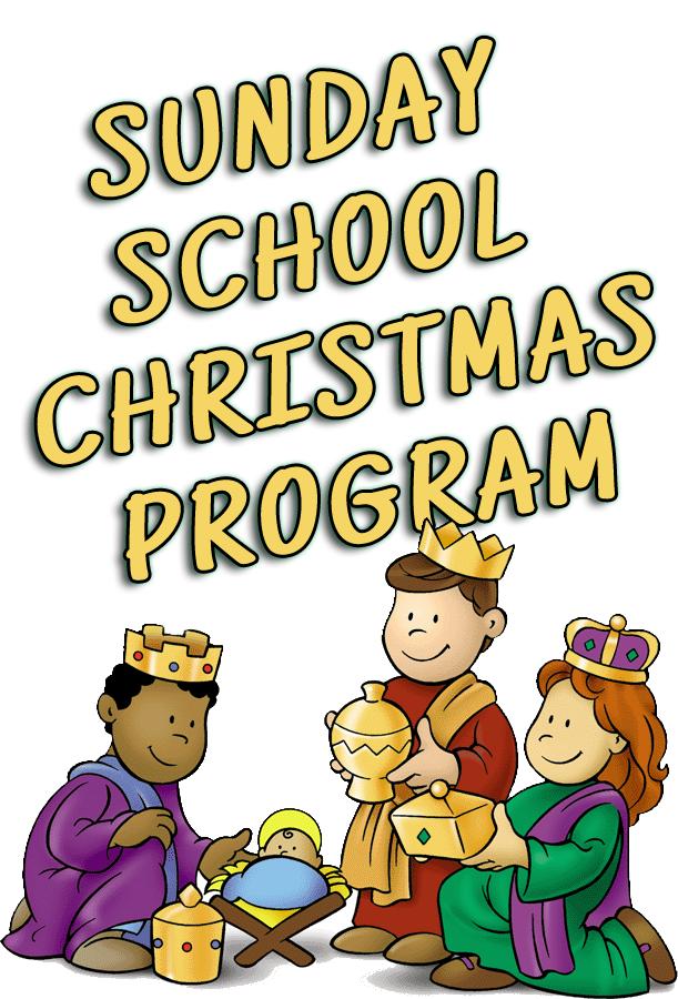 Sunday School Christmas Program — CHRIST TEMPLE.