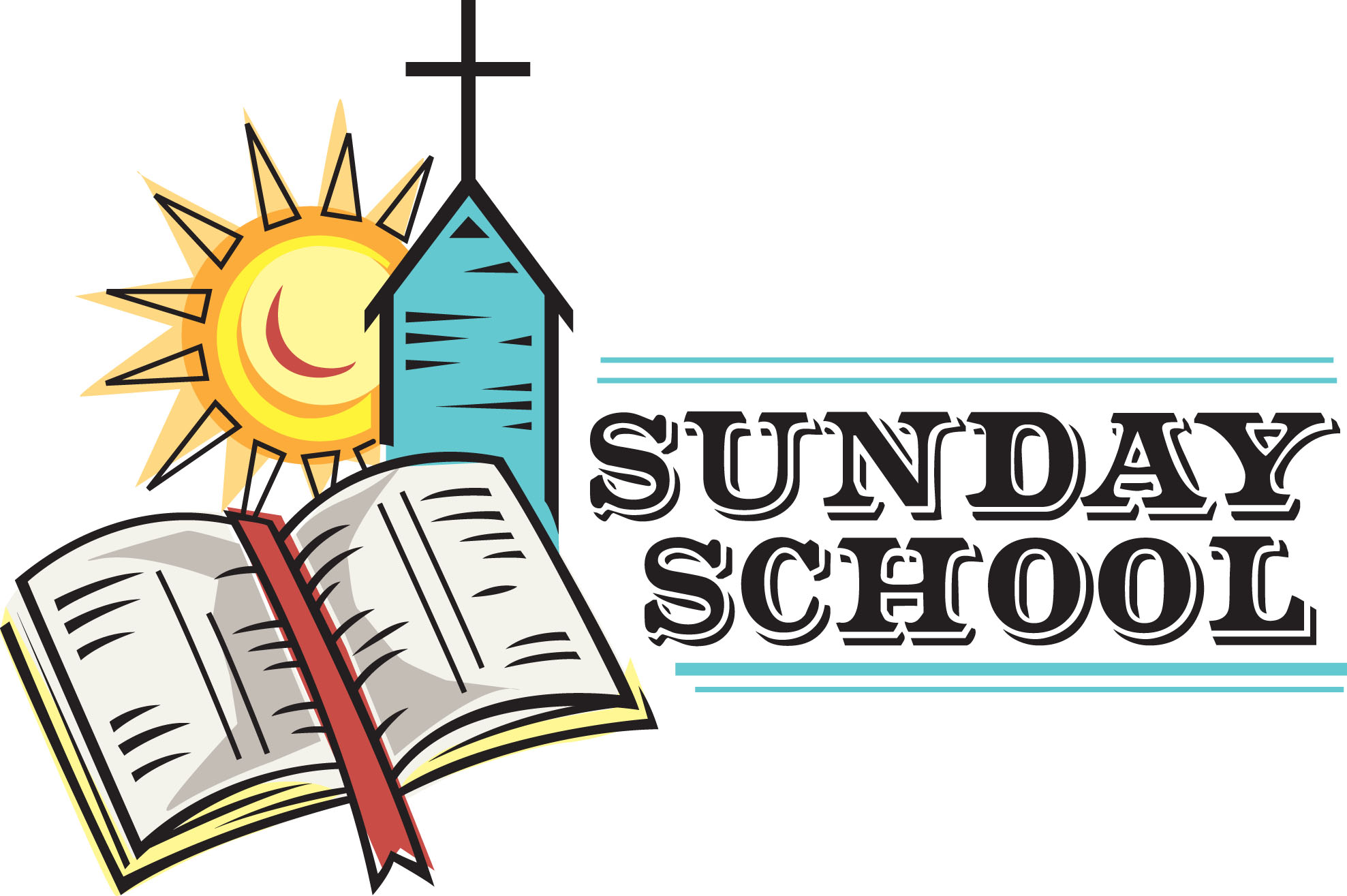 1399 Sunday School free clipart.