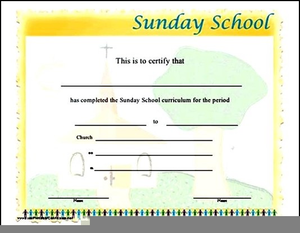 Sunday School Promotion Clipart.