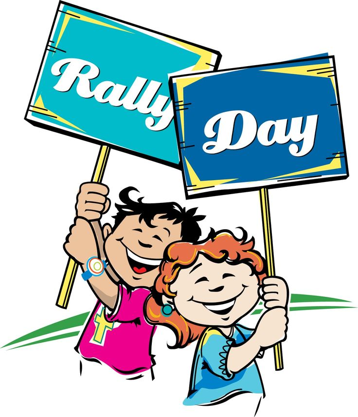 Free Sunday School Rally Day Clip Art free image.