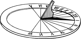 Sundial Clip Art Download.