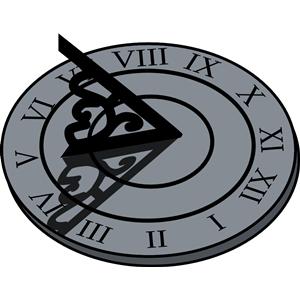 Sundial Vector at GetDrawings.com.