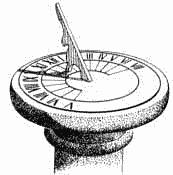 Sundial.