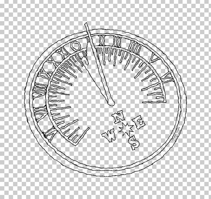 Make A Sundial Line Art Drawing Template PNG, Clipart, Angle.