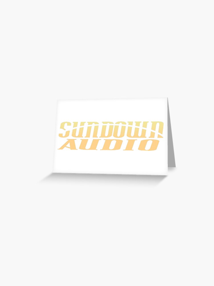 Sundown Audio Logo.
