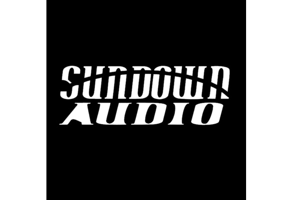 Sundown Audio Sticker Vinyl Decal Automobile Car Stereo System.
