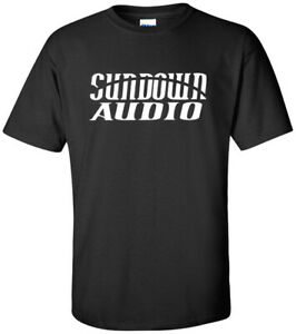 Details about SUNDOWN AUDIO LOGO 2019 USA men\'s t.