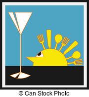 Sundowner Clipart Vector Graphics. 1 Sundowner EPS clip art vector.