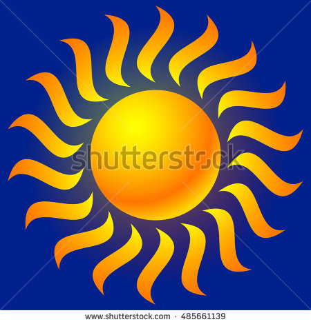 Sunburst Clip Art Stock Photos, Royalty.