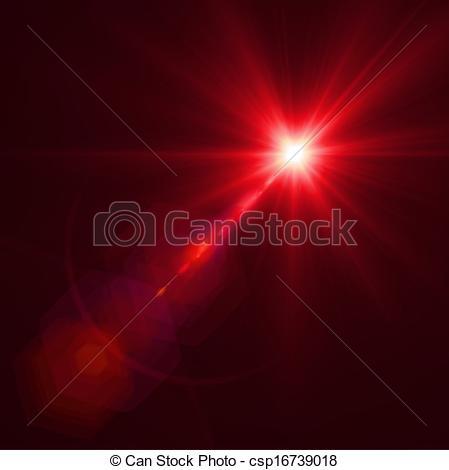 Vector Clip Art of Vector lens flare effect eps8.