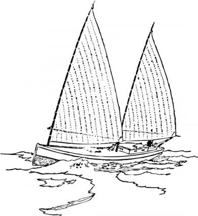 Sailboat Clip Art.