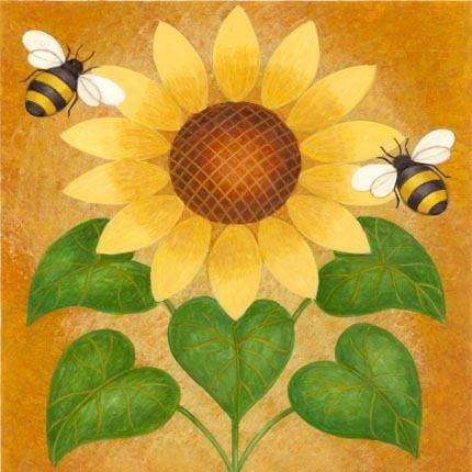 Bumblebee clipart sunflower, Bumblebee sunflower Transparent.