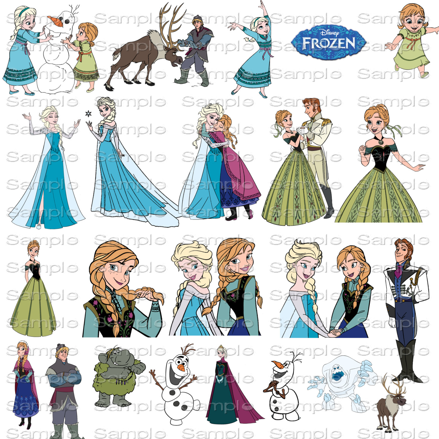 Disney Clipart Frozen.