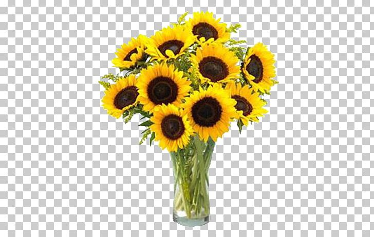 Common Sunflower Flower Bouquet Sunflower Seed PNG, Clipart.