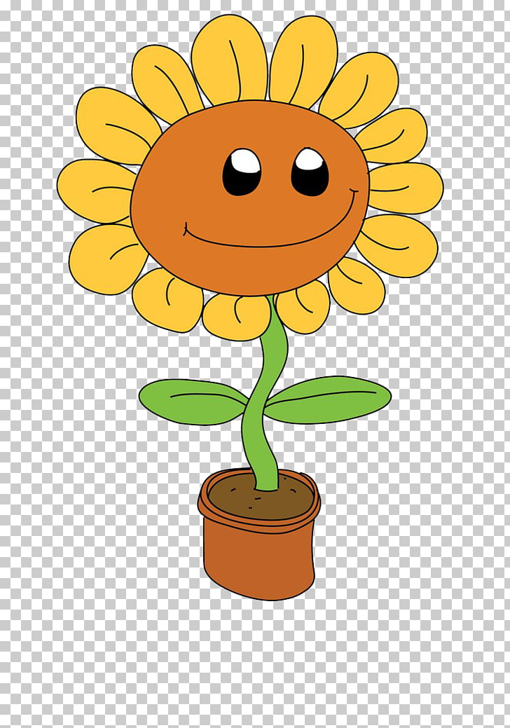 Cartoon , sunflower Cartoon PNG clipart.