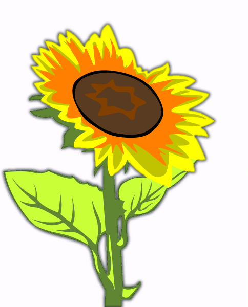 Free Sunflower Clipart.