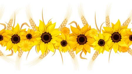 Free sunflower clipart borders 7 » Clipart Station.