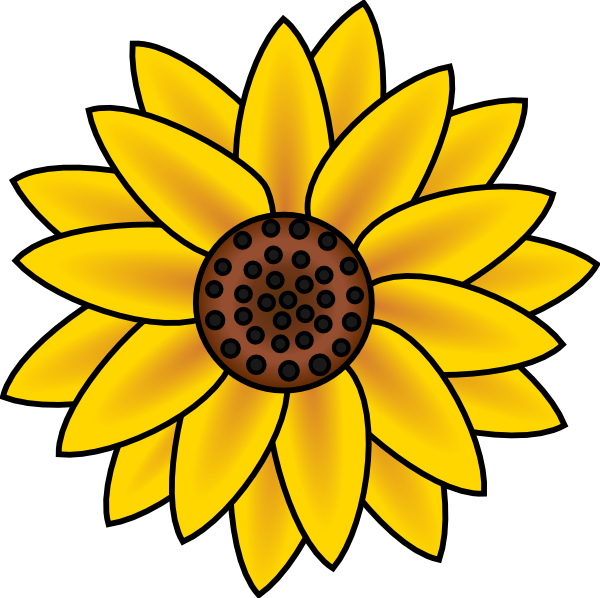 Country Sunflower Clip Art   Clipart Free Download.
