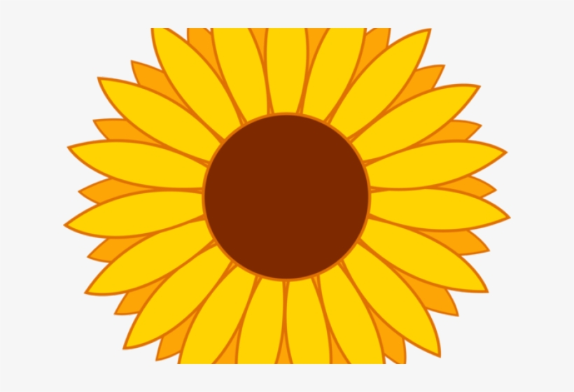 Sunflower Clipart Vector.