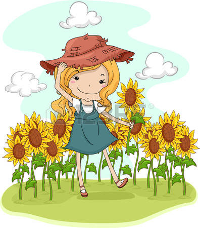 1,733 Sunflower Field Stock Illustrations, Cliparts And Royalty.