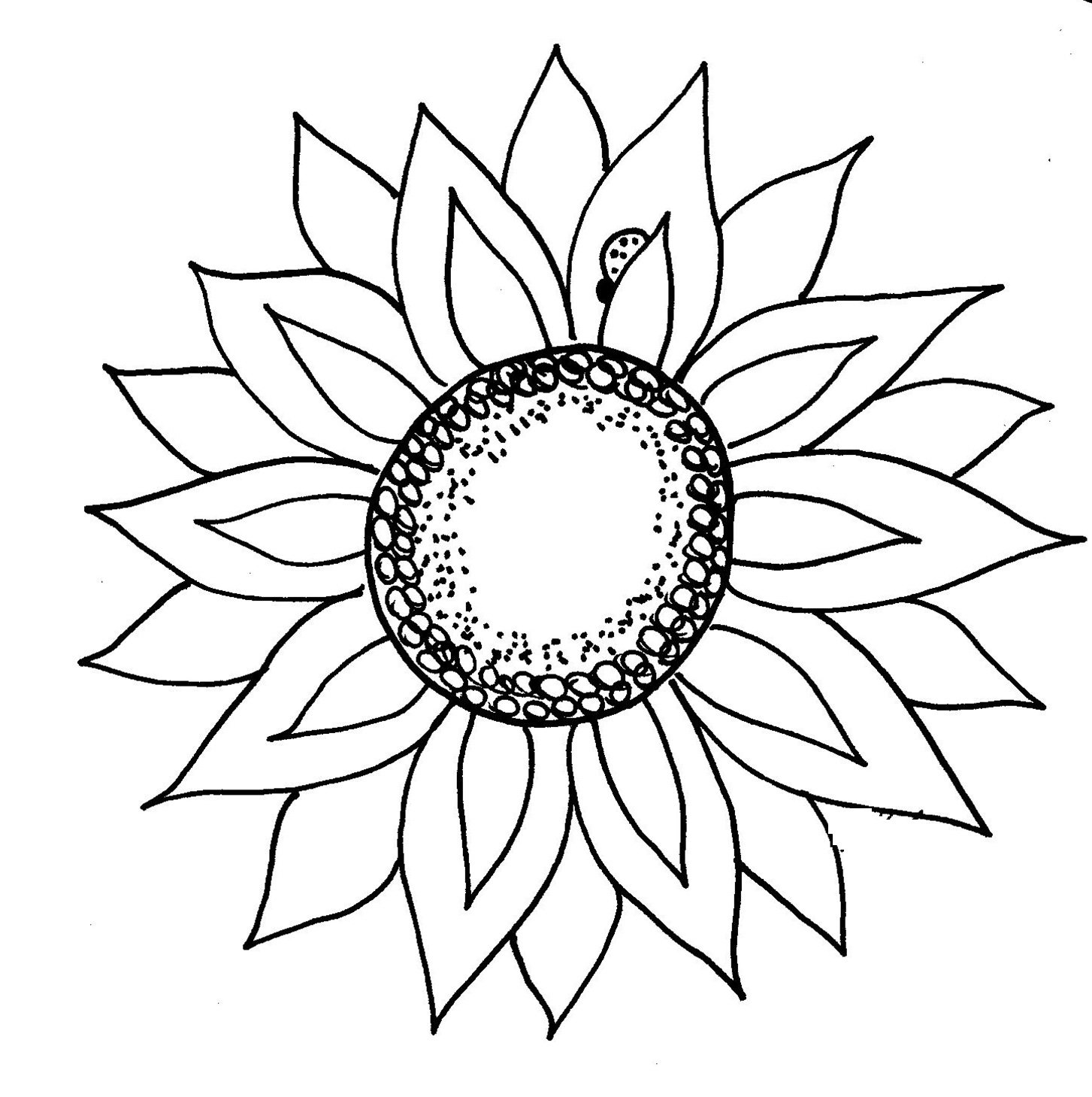 Free Black Sunflower Cliparts, Download Free Clip Art, Free.