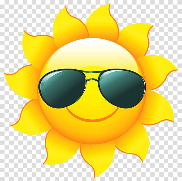 Sun wearing sunglasses cartoon, Free content , Sun with.