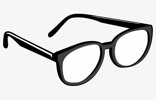 Free Sunglasses Black And White Clip Art with No Background.