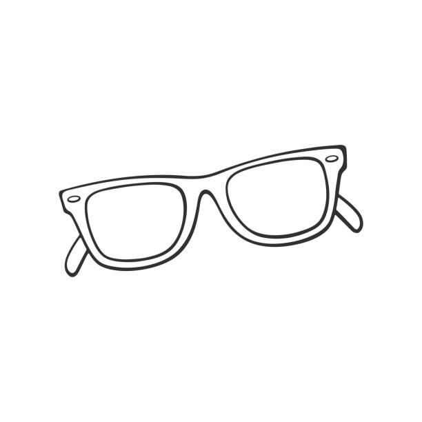 Eyeglasses Clipart Black And White.