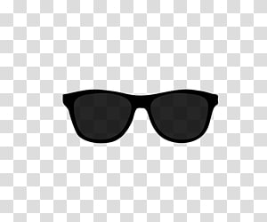Black Sunglasses transparent background PNG cliparts free.