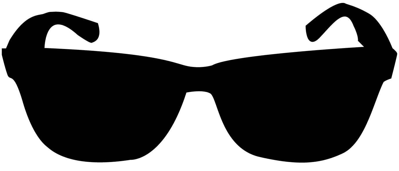 Black Sunglasses Clipart.