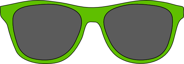 Cartoon Sunglasses Clipart.