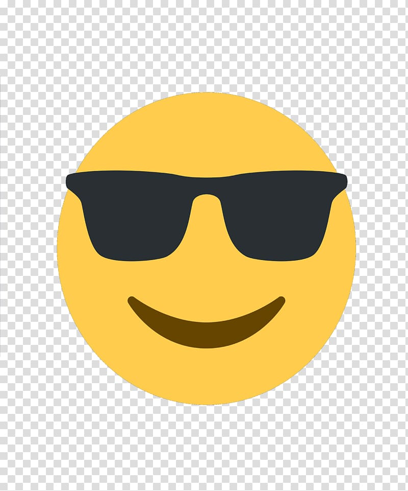 Cool emoji, Emoji Go Emoticon iPhone Smiley, sunglasses.