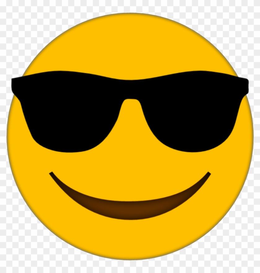 Sunglasses Emoji Clipart Smiley Face.