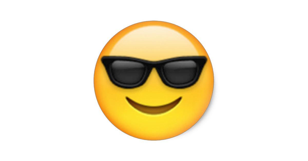 98+ Sunglasses Emoji Clipart.