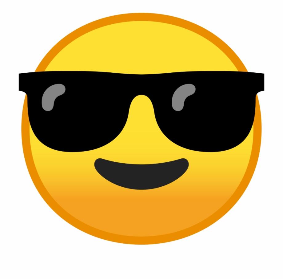 Sunglass Emoji Png.