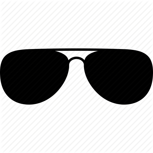 Sunglasses Icon Png #223359.