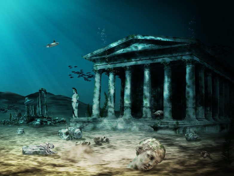 Top 10 Lost Cities Throughout History.