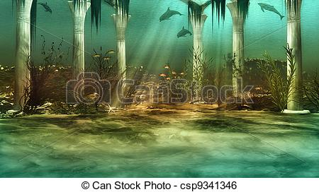 Atlantis Stock Illustrations. 263 Atlantis clip art images and.