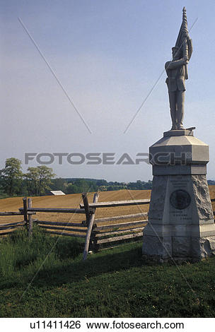 Stock Images of Antietam, civil war, Sunken Road, Antietam.