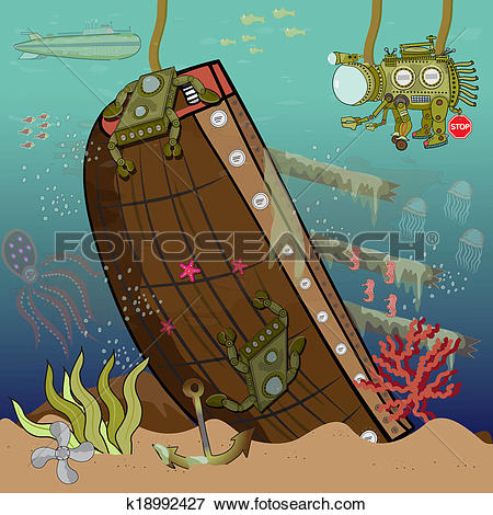 Sunken ship Illustrations and Clip Art. 50 sunken ship royalty.