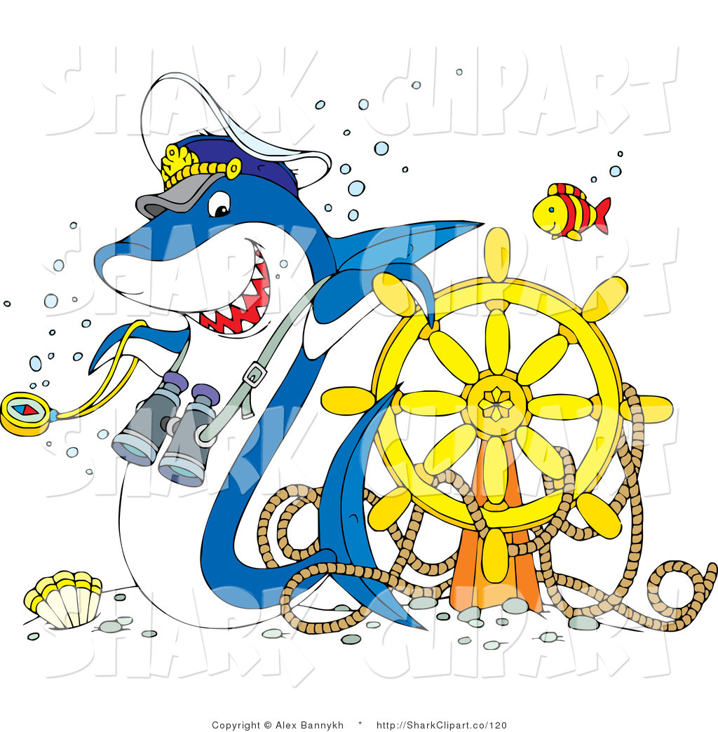 Royalty Free Ship Wreck Stock Shark Designs.